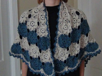 Crocheted Shawl Part 1