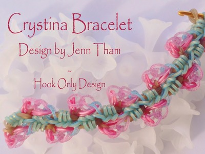 Crystina Bracelet - Design by Jenn Tham - Hook Only design