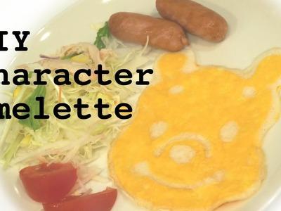DIY Disney Pooh Omelette