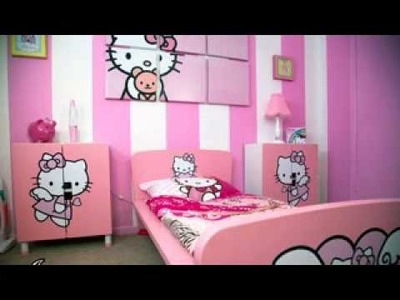 DIY Hello kitty room decorating ideas