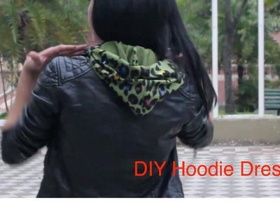 DIY Hoodie Dress
