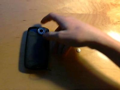 DIY Lens Cap for Mobile Cameras