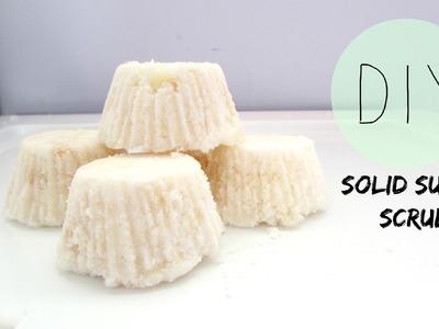 DIY: Solid Sugar Scrub