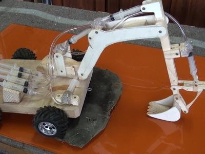 Escavadora hidráulica de juguete 2.2 partes