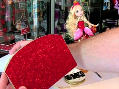 Ever After High Apple White Bed Tutorial