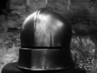 Fabrication d'armure médiévale Making of medieval armor #19