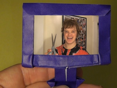 Fold an Origami HDTV! by Jeremy Shafer