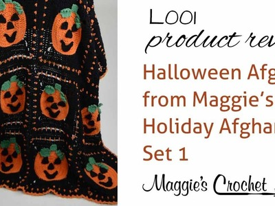 Halloween Afghan  Product Review  L001