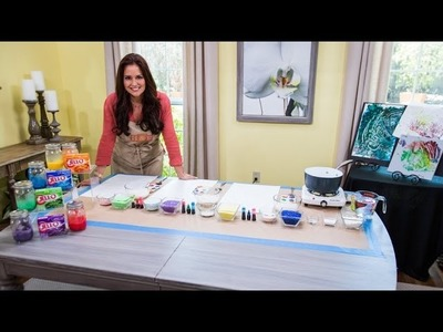 Home & Family - How to Make DIY Finger Paint
