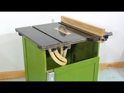 Homemade table saw - what I'd do different next time