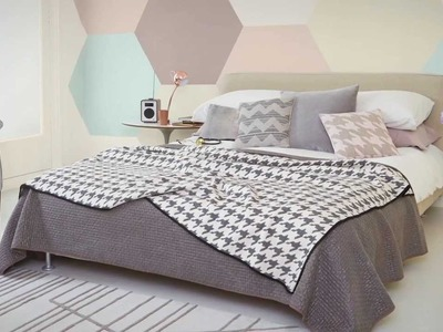 How to create a striking hexagonal paint design with Dulux