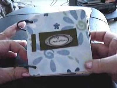 How to Make a Coaster Mini Album