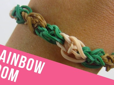 How To Make a Pinnacle Rainbow Loom Bracelet