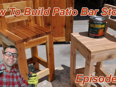 How to Make Simple Bar Stools
