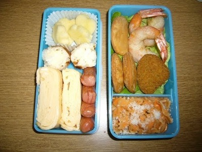 How to prepare a bento box