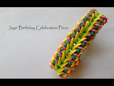 Jays' Birthday Celebration Piece - Advanced Hook Only Bracelet