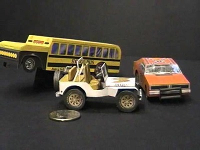 KoolWheelz Free Paper Car Models by Dave's Card Creations