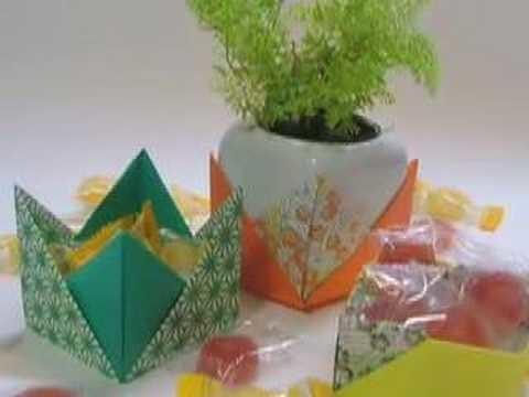 Ku-Ku ORIGAMI Box in 2 pieces (Caja en dos piezas)