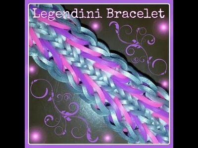 Legendini bracelet (English tutorial)