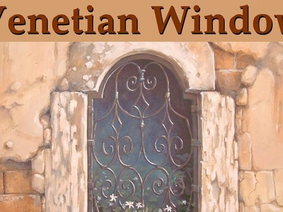 Murals & Trompe l'oeil - Venetian Window