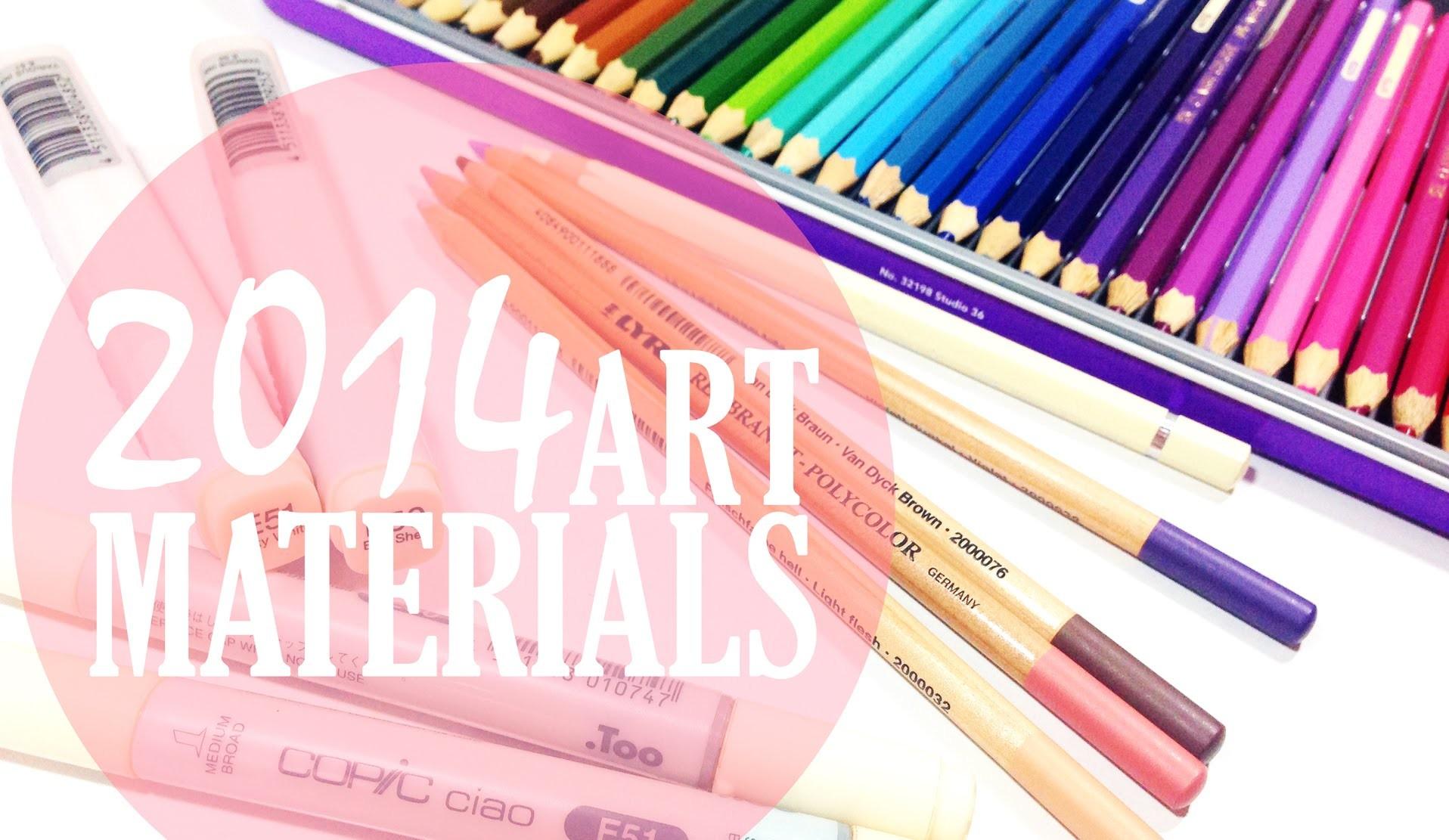 My Art Materials 2014