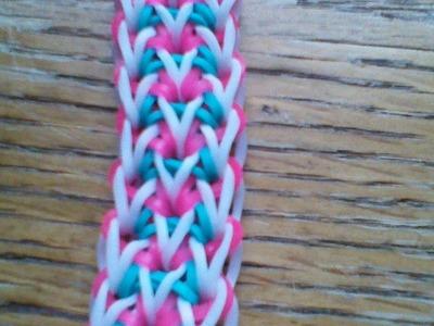 NEW Rainbow Loom Kāipán Bracelet