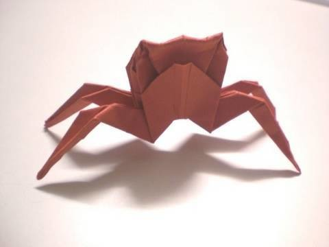 Origami Crab