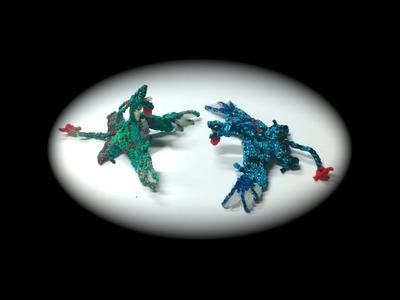 Part 2.5 Rainbow Loom Ikran.Banshee from Avatar, Adult