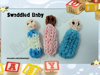 Rainbow Loom - Swaddled Baby Action Figure.Charm - Gomitas