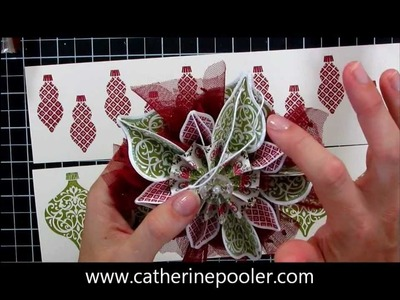 Stampin' Up Holiday Mini Catalog Ornament
