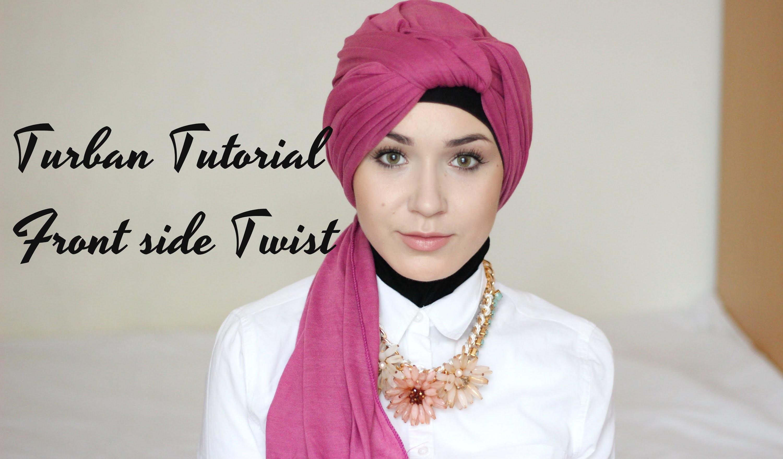 Turban Tutorial | Front Side Twist