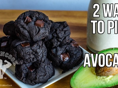 2 Ways to Pimp Avocado - Hummus & Dark Chocolate Cookies. Hummus de Aguacate y Galletas