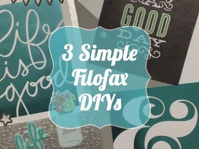 3 Simple Filofax DIYs | MAMBI Projects
