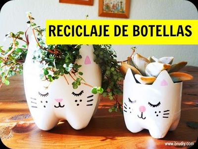 40 Ideas para reciclar botellas | 40 Ideas to recycle bottles