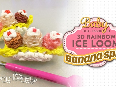 Baby Banana Split: 3D Rainbow Ice Loom Series