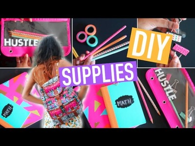Back to School: DIY School Supplies! Easy & Cute! 2015