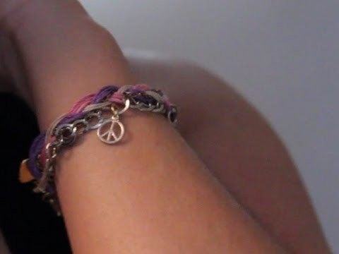 Braided Friendship Bracelet ♥ DIY