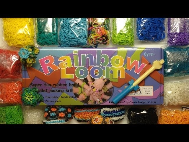 [CLOSED!] Rainbow Loom Giveaway!