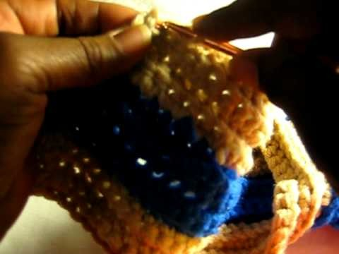 Crochet Cocoon Boot Slippers pt 6 of 9