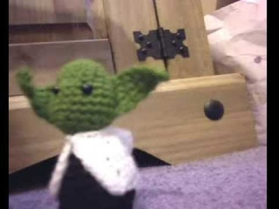 Crochet Yoda and la spider!