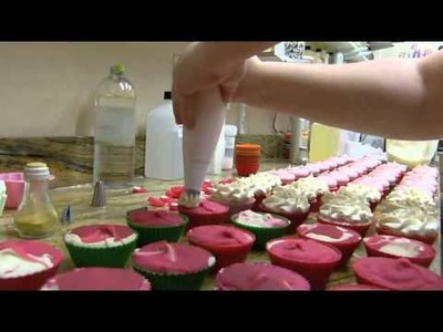 Cupcake Soap Making by Edens Secret