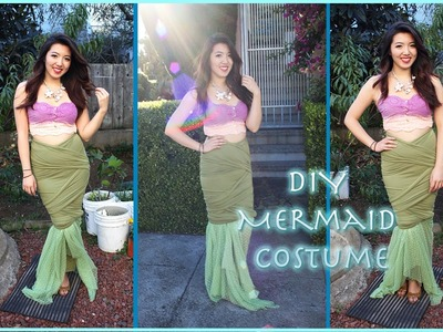 D.I.Y Mermaid Tail Costume (Super Easy!)