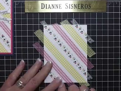 """Dianne Will Teach Me That"" Cute Ideas Using our New Washi Tape"