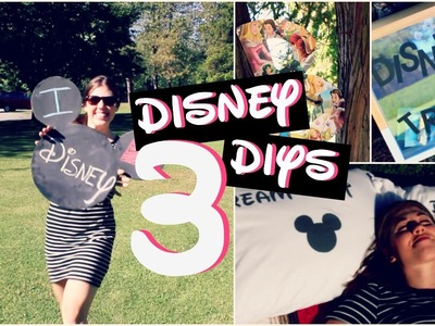 Disney DIYs Part 3- Disney Room Decor!