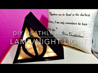 DIY Deathly Hallows Lamp.Night light
