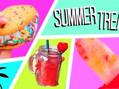 DIY Easy & Delicious Summer Treats!