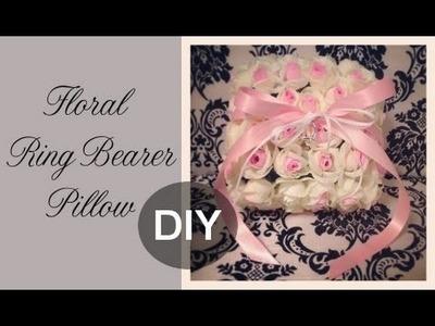 DIY Floral Ring Bearer Pillow: Guest Florist Tracy