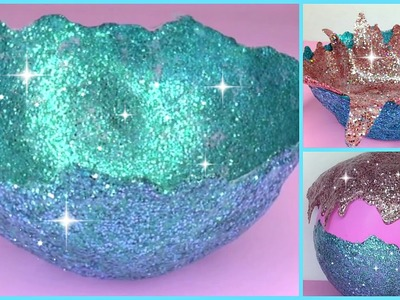 DIY Glitter Accent Bowl