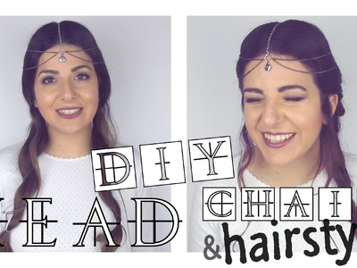 DIY Head Chain & easy Hippie hairstyles