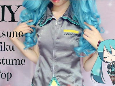 DIY How to Make Hatsune Miku Costume (Top)